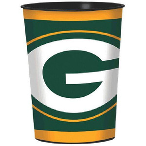 NFL Green Bay Packers Favor Plastic Cups, 16 Oz