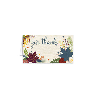 Friendsgiving Table Cards