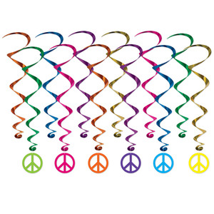 Peace Sign Whirls