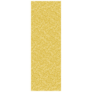 Printed Sequined Plastic Tablecover, Gold