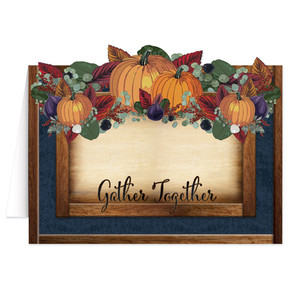 Fall Thanksgiving Table Cards