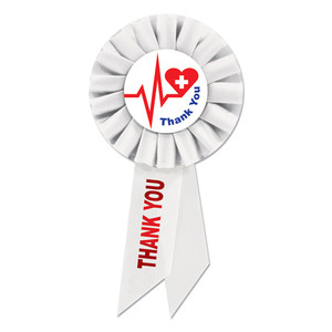 Thank You Health Care Workers Rosette