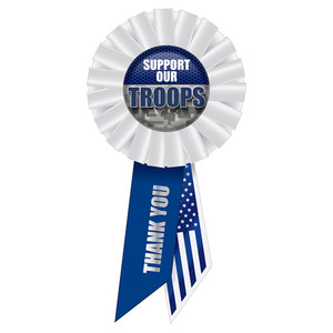 Support Our Troops Rosette
