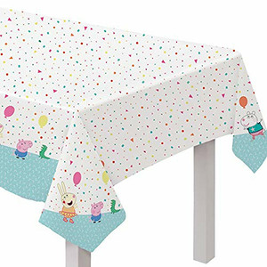 Peppa Pig Confetti Party Table Cover