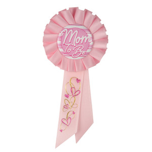 Mom To Be Rosette - Pink