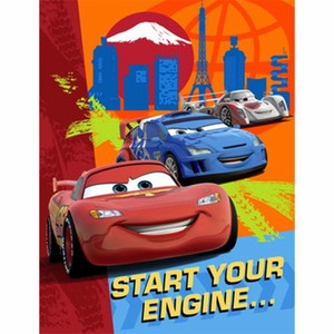 8 Cars 2 Invitations