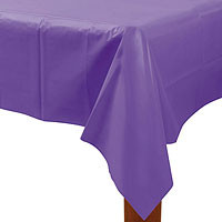"Purple Rectangle Tablecover 54"" x 108"""