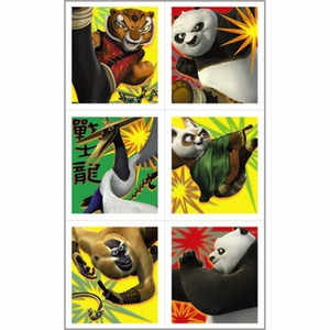 4Kung Fu Panda 2 Sticker Sheets