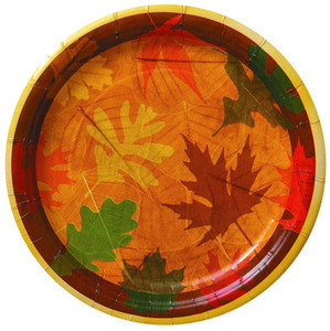 8 Turning Leaves Dinner Plates