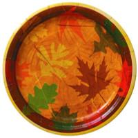 8 Turning Leaves Dinner Plates
