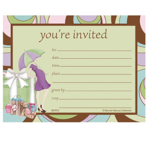 8 Parenthood Postcard Invitations