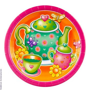 8 Tea For You Dinner Plates