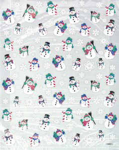 4 Snowman Large Cello Bags
