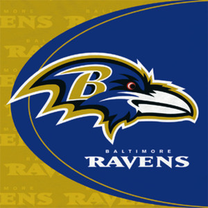 Baltimore Ravens Luncheon Napkin