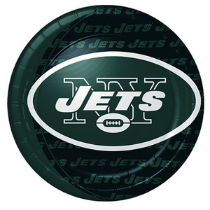 New York Jets Dinner Plate 8 Pack