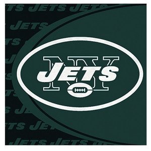 New York Jets Luncheon Napkin 16 Pack
