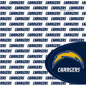 San Diego Chargers Luncheon Napkin 16 Pack