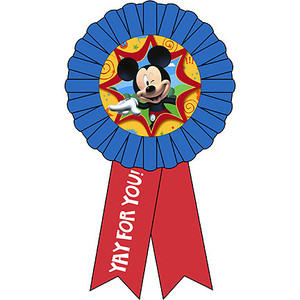 Mickey Fun & Friends Award Ribbon