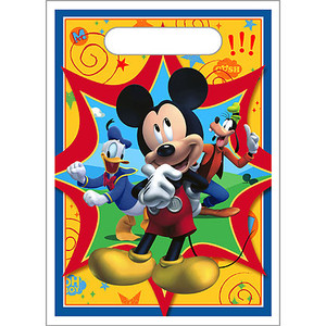 Mickey Fun & Friends Treat Sack 8 Pack