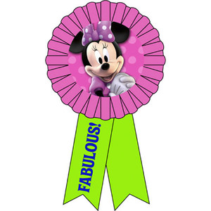 Minnie Bows Award Ribbon