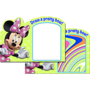 Minnie Bows Watercolor Paint Board 4 Pack