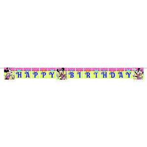 Minnie Bows 8 Feet Banner Plastic