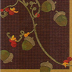 Fall Harvest Beverage Napkin 16 Pack