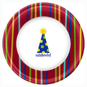 Shine Celebrate 7 Inches Dessert Plates