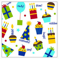 Shine Celebrate Luncheon Napkin 16 Pack