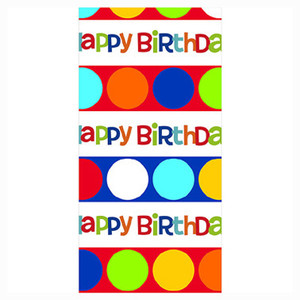 Shine Celebrate Birthday Table Cover