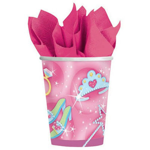 Princess 9 oz Cups - 8 ct