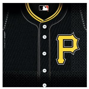 Pittsburgh Pirates Baseball Lunch Napkins 36 Pack