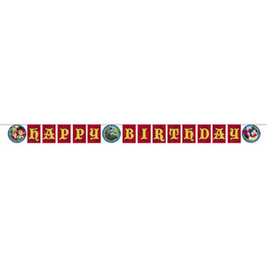 Jake And The Never Land Pirate Birthday Banner