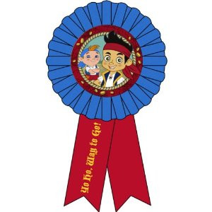 Jake Never Land Pirates Award Ribbon