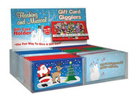 Flashing And Musical Gift Card Holder