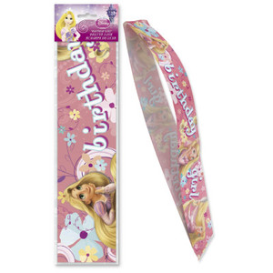 Tangled Birthday Girl Deluxe Satiny Sash