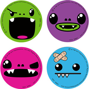 So So Happy Mini Buttons 4 Pack