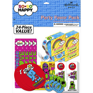 So So Happy Party Favor Pack