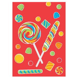 Sugar Buzz Candy Party Treat Bags