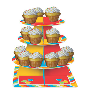 Sugar Buzz Cupcake Tier Servers 8 Count