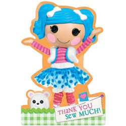 Lalaloopsy Thank You Notes 8 Count