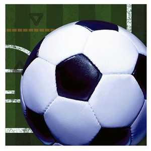 Heads Up Soccer Ball Luncheon Napkins 16 Count