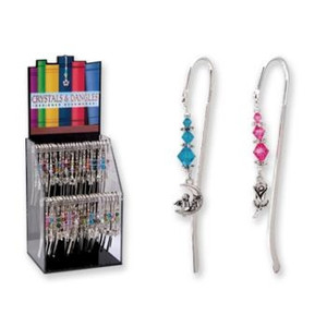 Crystals and Dangles Designer Bookmarks