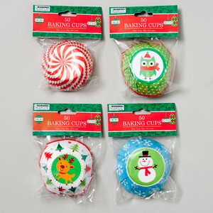 Christmas Baking Cups