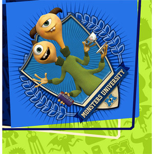 Monsters University Lunch Napkins 16 Count