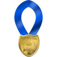 Monsters University Guest of Honor Medal
