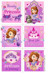 Disney Sofia the 1st Stickers 4 Sheets