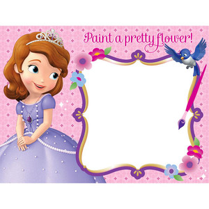 Disney Sofia the 1st Paint Board Activity 4 Pack