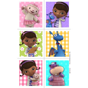 Doc McStuffins Stickers 4 Sheets