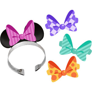 Disney Minnie Dream Party Ears with Interchangeable Bows 4